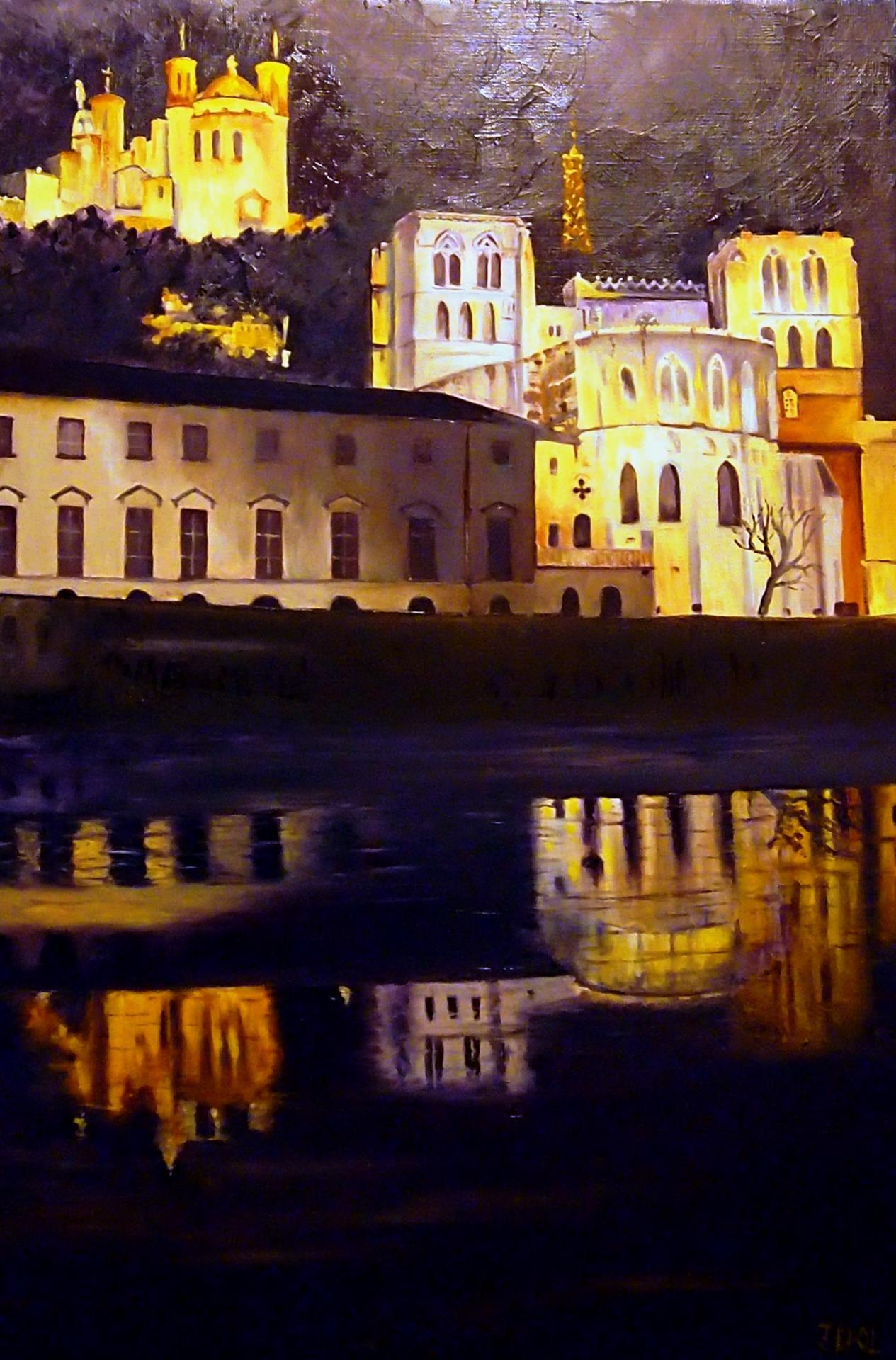 Nuit à St Jean 81x54