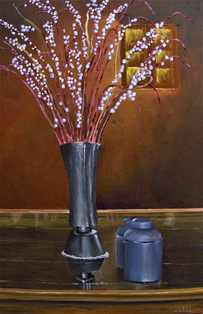 bouquet aux ponpons