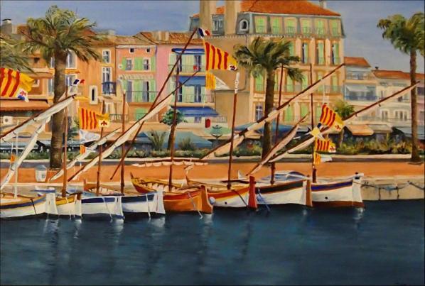 Port de Bandol 50x73